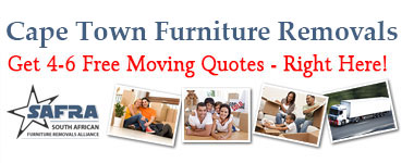 Cape Town Furniture Removals | Get 4-6 Quotes Right Here!